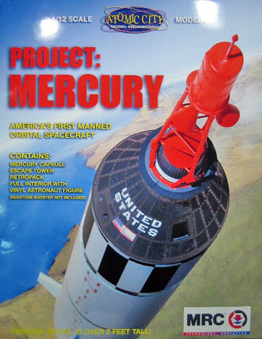 Mercury Capsule Review By Gene Kozicki Atomic City 1 12