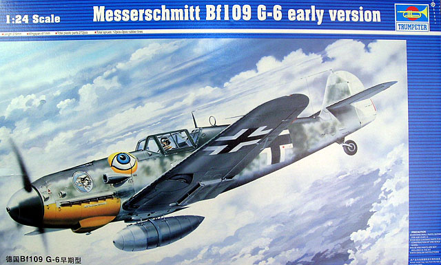 Bf 109g 6 early version review by brett green trumpeter 1 24