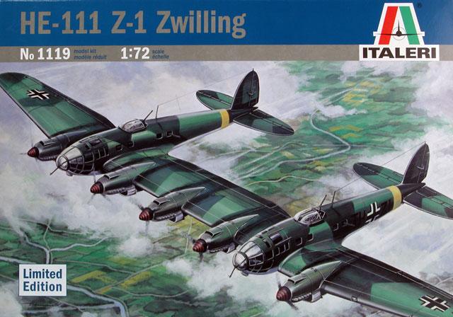 Heinkel He 111z 1 Review By Glen Porter Italeri 1 72