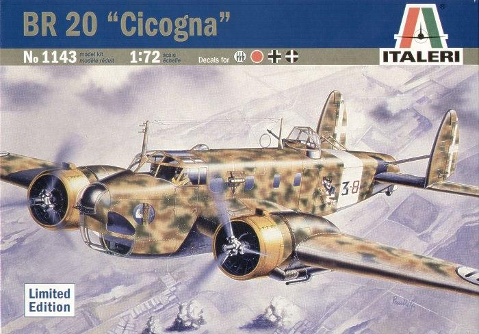 Fiat Br 20 Cicogna Review By Glen Porter  Italeri 1  72