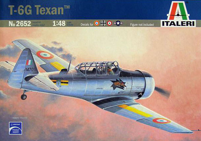 T 6g Texan Review By Mick Evans Italeri 1 48