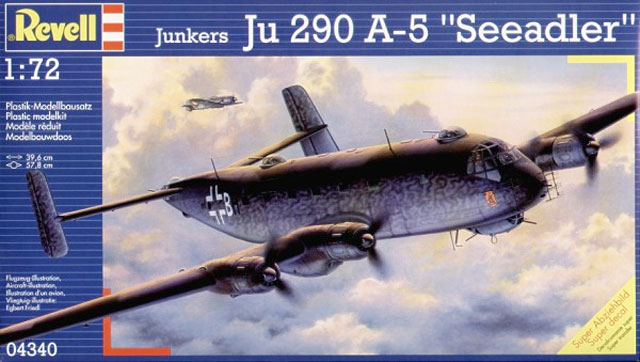 junker ju 290 review by brett green revell 1 72. Black Bedroom Furniture Sets. Home Design Ideas
